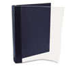 Vinyl Magazine Binder, 9 1/2w x 11-1/4h, Clear Front Cover, Navy Blue Back