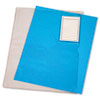 Advantus Vinyl File Folder, Clear, Letter with Pocket