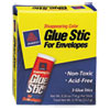 Avery Glue Stic for Envelopes, .26 oz, Stick, 3/Pack