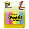 Post-it Page Markers, Ultra, 100 Flags/Pad, 5 Pads/Pack