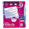 Avery Multicolor Write-On Big Tab Dividers W/ Pocket, 8-Tab, Letter, 1 Set