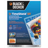 Black & Decker TimeShield Laminating Pouches - BOS LAM5X725