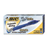 BIC Pro+ Ballpoint Retractable Pen, Blue Ink, 1mm, Medium, Dozen