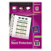 Avery Top Load Sheet Protector, Heavyweight, 8.5 x 5.5, Clear 25/Pk