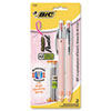 BIC Pink Ribbon ReAction Mechanical Pencil, 0.7 mm
