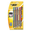 BIC Matic Grip Mechanical Pencil, 0.50 mm, Assorted Barrel