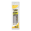BIC Refill for 4-Color Retractable Ballpoint, Medium, BLK, BE, GN, Red Ink