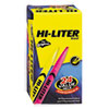 HI-LITER Pen Style Highlighter, Chisel Tip, Assorted Fluorescent Colors, 24/Pack
