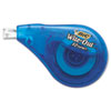 Wite-Out EZ Correct Correction Tape, Non-Refillable, 1/6&quot; x 472&quot;, 2/Pack