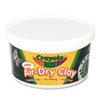 Air-Dry Clay, White, 2 1/2 lbs