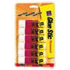 Avery Permanent Glue Stics, White Application, .26 oz, Stick, 6/Pack