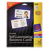 Avery Self Laminated Cards - AVE 75361