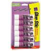 Avery Permanent Glue Stics, Purple Application, .26 oz, 6/Pack