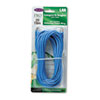 CAT5e Snagless Patch Cable, RJ45 Connectors, 25 ft., Blue