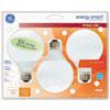 GE Compact Fluorescent Bulb, 11 Watt, G25 Globe, Soft White, 3/Pack