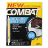 Combat Ant Bait Insecticide Strips, 0.35 oz, 5/Box, 12 Box/Carton