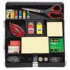 3M Recycled Plastic Desk Drawer Organizer Tray, Plastic, Black