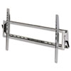 Wall Mount Bracket for Flat Panel LCD & Plasma TV, Steel, 42x11-1/2x4, Silver