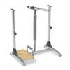 Ergo Sit/Stand Workstation, 41w x 29d x 29-39h, Steel Base (Box One)