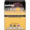 Boise FIREWORX Colored Paper, 20lb, 8-1/2 x 11, Golden Glimmer, 500 Sheets/Ream