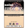 Boise FIREWORX Colored Paper, 20lb, 8-1/2 x 11, Rat-a-Tat Tan, 500 Sheets/Ream