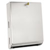 Bobrick Surface-Mounted Paper Towel Dispenser, 10 3/4 x 4 x 14, Satin Stainless Steel