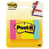 Post-it Page Markers, Assorted Brights, 100 Strips/Pad, 5 Pads/Pack