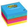 Post-it Notes Original Pads in Jaipur Colors, 3 x 3, 100/Pad, 5 Pads/Pack