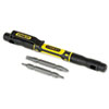 Stanley 4-in-1 Pocket Screwdriver, Black