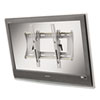 "Flush Wall-Mount Bracket for 42-61"" Flat Panel Monitor, Aluminum"