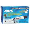 EXPO Dry Erase Markers, Chisel Tip, Black, Dozen