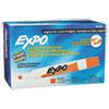 EXPO Dry Erase Markers, Chisel Tip, Orange, Dozen