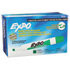 EXPO Dry Erase Markers, Chisel Tip, Green, Dozen