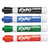 EXPO Low Odor Dry Erase Marker, Bullet Tip, Assorted, 4/Set