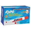 EXPO Dry Erase Markers, Chisel Tip, Red, Dozen