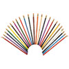 Prismacolor Col-Erase Colored Woodcase Pencils w/ Eraser, 24 Assorted Colors/Set