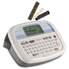 Brother P-Touch PT-90 Simply Stylish Personal Labeler, 2 Lines, 6-1/10w x 4-1/10d x 2-1/5h