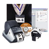 Brother QL-570VM Visitor Badge/Management Kit, 68 Labels/Min, 5-3/10w x 5-3/5d x 8-1/5h