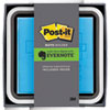 Post-it Note Dispenser with Premium One-Month Evernote Subscription, White/Black