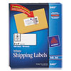 Avery Shipping Labels w/Ultrahold Ad & TrueBlock, Inkjet, 2 x 4, White, 1000/Box