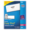 Avery Easy Peel Laser Address Labels, 1-1/3 x 4, White, 1400/Box