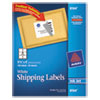 Avery Shipping Labels w/Ultrahold Ad & TrueBlock, Inkjet, 3 1/3 x 4, White, 150/Pack