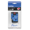 Brother P-Touch TC Tape Cartridge for P-Touch Labelers, 1/2w, Black on Red