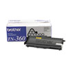 TN360 High-Yield Toner, 2600 Page-Yield, Black