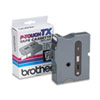 Brother P-Touch TX Tape Cartridge for PT-8000, PT-PC, PT-30/35, 1w, Black on Clear