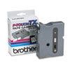 Brother P-Touch TX Tape Cartridge for PT-8000, PT-PC, PT-30/35, 3/4w, Black on White