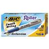 BIC Ecolutions Reaction Ballpoint Retractable Pen, Blue Ink, 1mm, Medium, Dozen