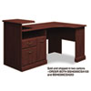 Expandable Corner Desk Solution (B/F/D) Box 2 of 2 Syndicate Harvest Cherry