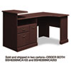 Expandable Corner Desk Solution (B/F/D) Box of 2 Syndicate Mocha Cherry
