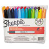 Sharpie Fine Point Permanent Marker, Assorted, 24/Set